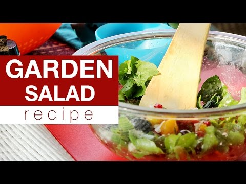 How to Make a Fresh Garden Salad?
