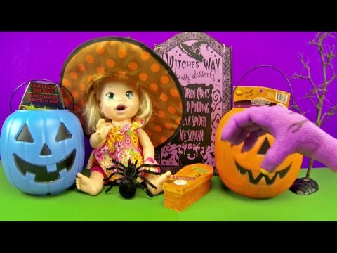 Spooky Halloween Surprise Jack O Lantern Pumpkins W/MLP Monster High Minecraft Mickey Mouse
