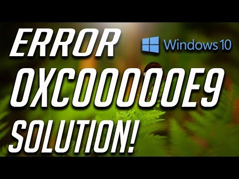 How to Fix Error 0xc00000e9 in Windows10