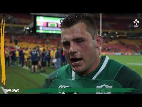 Ireland Down Under; CJ Stander Post Match Reaction