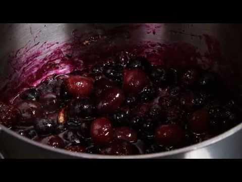 Fruit compote with honey muesli recipe from Waitrose