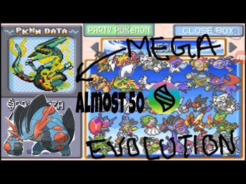 Pokemon Glazed -All mega evolutions cheat codes(flygon, salamance etc)