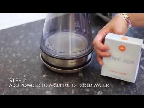 Descaling a kettle