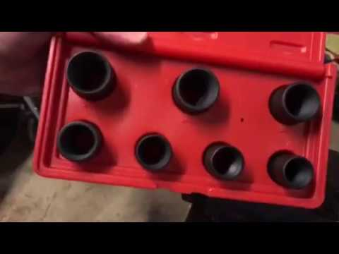 How to remove a stripped or rounded lug nut