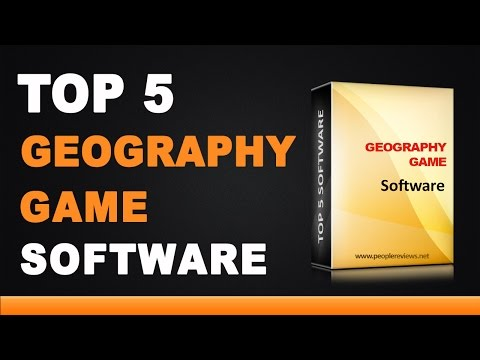 Best Geography Game Software - Top 5 List