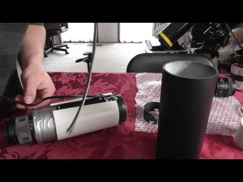 DIY night vision telescope