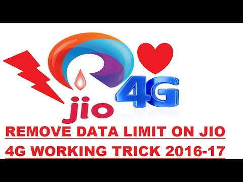 How to remove Jio 1GB Data Limit
