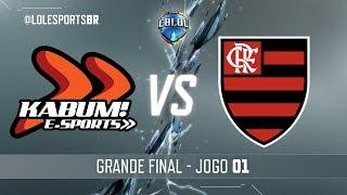 CBLoL 2018: KaBuM x Flamengo (Jogo 1) | Grande Final - 2ª Etapa