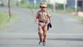 "छोटू दादा पुलिस मैन |""CHOTU DADA POLICE MAN"" Khandesh Hindi Comedy Chotu Dada Comedy Video"