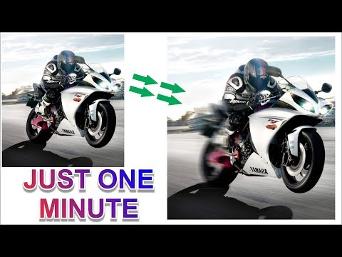Coreldraw x7 Tutorial - How to Make Speed Effect Using Motion Blur Tool Best Tips by AS GRAPHICS