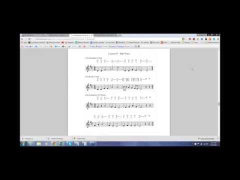 Learn Half Notes   Just Starting Violin Webinar