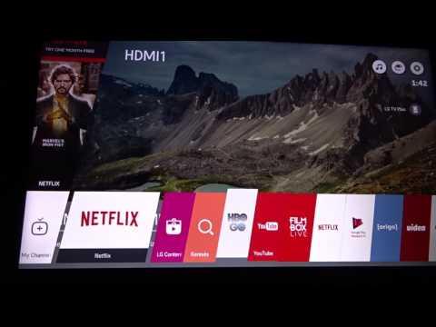 LG 43UH6207 4K UHD TV (HBO GO & NetFlix probléma és annak megoldása)