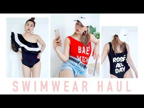 Swimwear Try-on Haul/Zaful Review | WEARTOWORKSTYLE