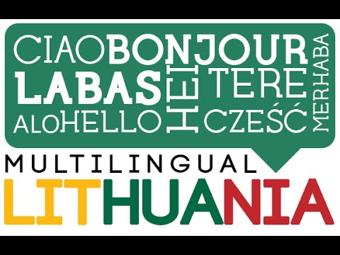 Multilingual Lithuania Spring 2015