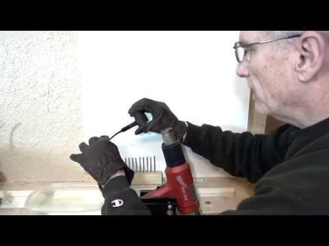 Replacing a High Grade Pipe Stem PART 16 -- Bending the stem