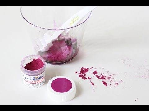 Product Test: TruColor Natural Gel Colors in Royal Icing