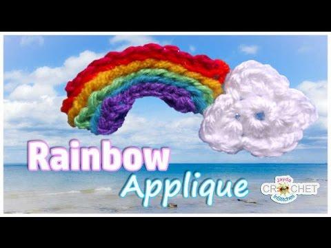 Crochet Rainbow with Cloud Tutorial