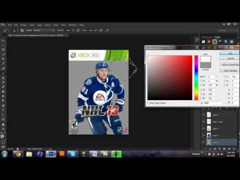 [Tutorial] How To Make A Madden / NHL Custom Cover