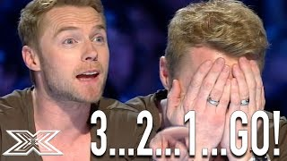 """Ronan Keating Helps Contestant Sing """"When You Say Nothing At All"""" 