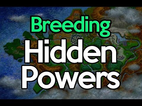 How to Breed Hidden Powers (Pokemon X and Y)