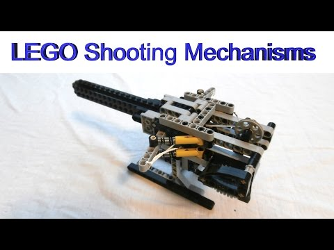 How to build LEGO shooting mechanisms