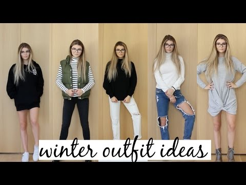 WINTER OUTFIT IDEAS / LOOK BOOK 2016 ft. GLASSES