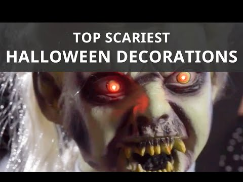 The Best Scary Halloween Decorations | Shindigz