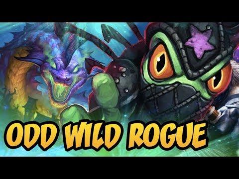 Hearthstone: Odd Wild Rogue