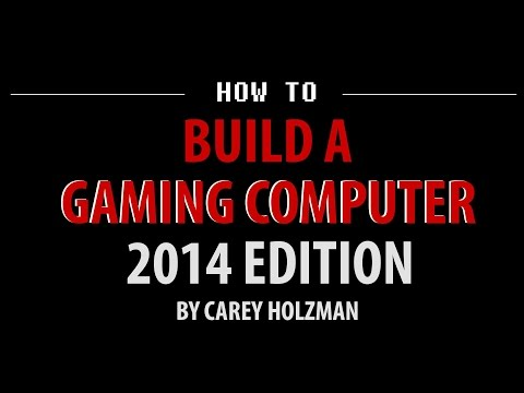 How To Build A Gaming PC Computer - July 2014 - GoPro