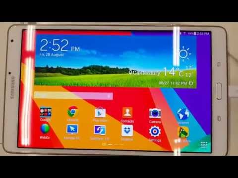 Samsung Tab S 8.4 specifications and a quick review