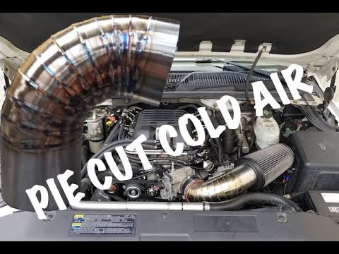 Building A Stainless Pie Cut Cold Air Intake
