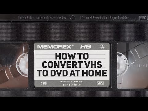 How To Convert VHS To DVD at Home