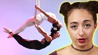 Women Learn A Synchronized Trapeze Act In A Week