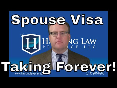 Why is my spouse visa taking so long?