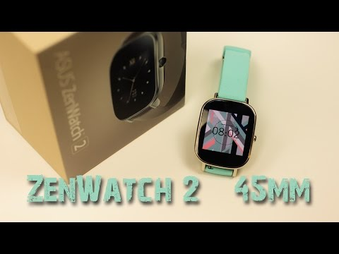 Asus ZenWatch 2 Light Aqua 45mm