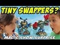 Tiny Swappers Skylanders Magic Show Surprise Swap Force Fun