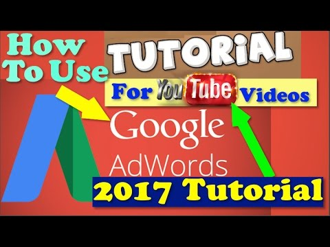 How To Use Google Adwords For Youtube Videos -  Easy Steps 2017  - Grow Ur Channel From 0 Subs