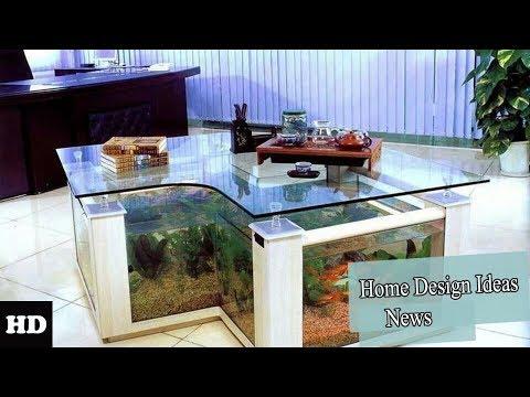 Coffee Table Design Aquarium  - Fish Tank Decorating Ideas 2018