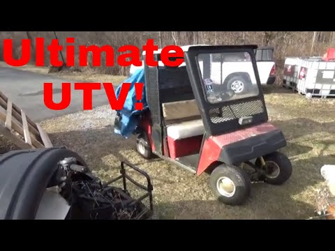 1995 EZGO Work Horse, the Ultimate UTV Joins the Collection!