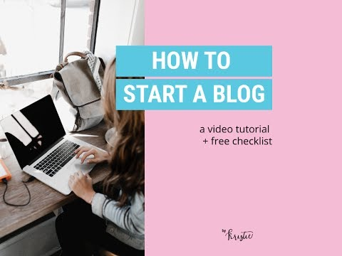 How to start a blog 2017 using Bluehost