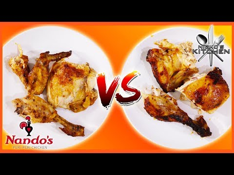 NANDO'S vs HOMEMADE 🌶 Peri Peri Chicken Recipe 🍗 Make it at Home!