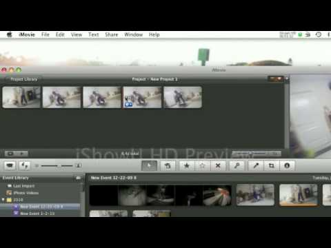how to make ramped slow mo on imovie 09