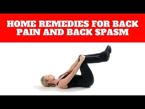 Home Remedies for Lower Back Pain and Back Spasms Treatment