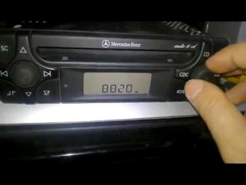 Autoradio Mercedes audio 10 cd MF2910 code trovare codice