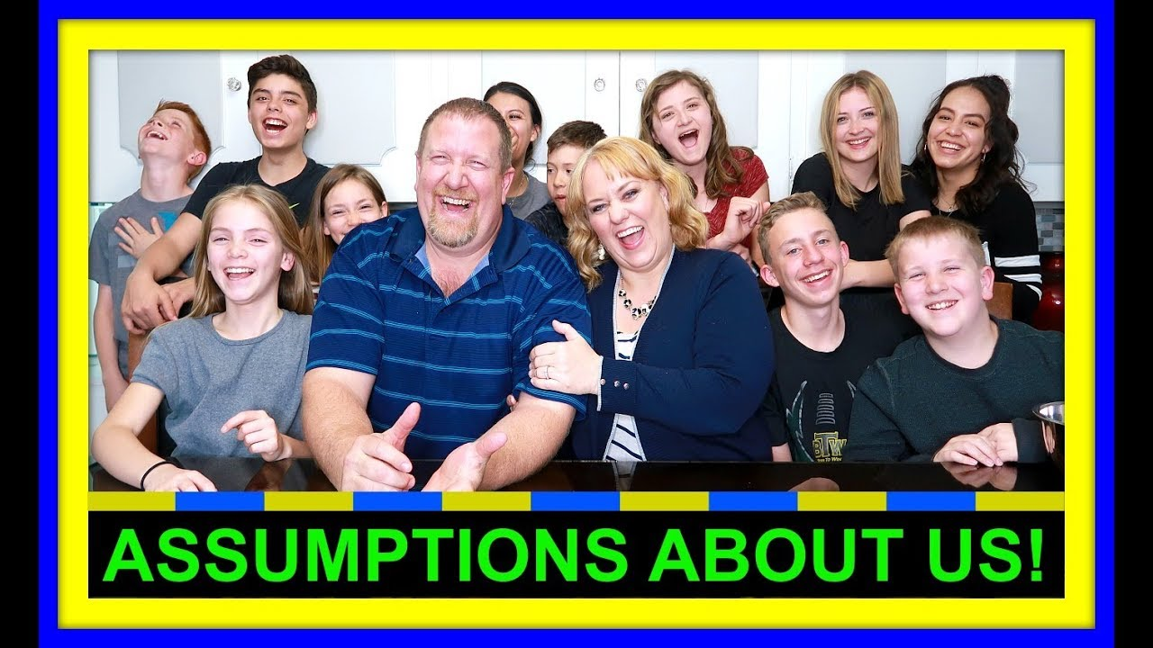 ASSUMPTIONS ABOUT US! | WE ANSWER THE HARD ONES!