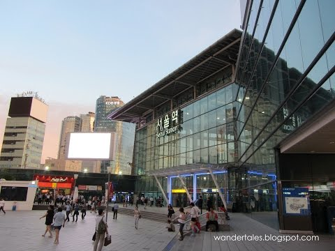 Seoul Station to Myeongdong