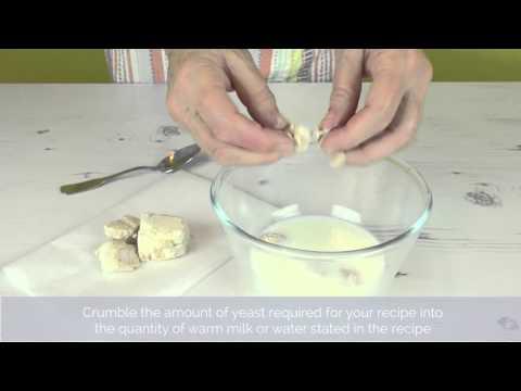 Bake Club presents: How to use fresh yeast