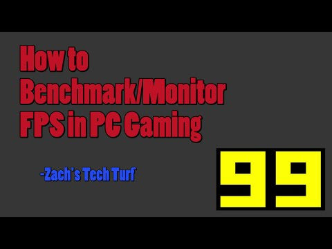 how to monitor your framerate in pc games frame rate test program