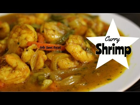 Curry Shrimp | Hello Sweet Biscuit