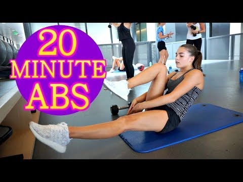 20 MINUTE Ab Workout + HIIT on the Treadmill!